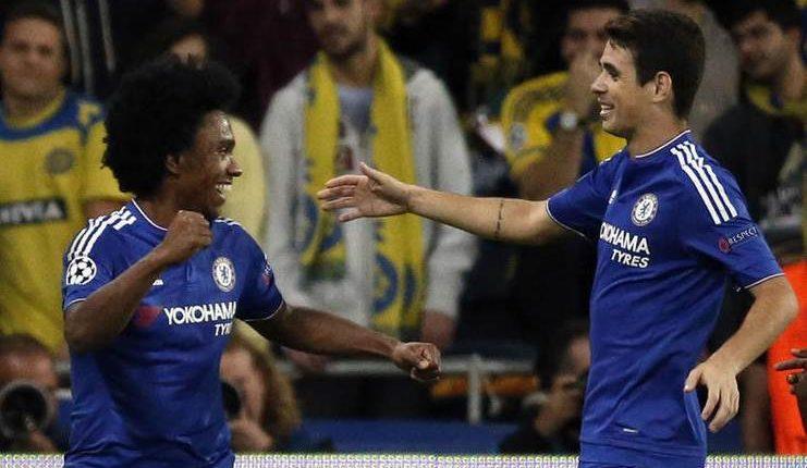 Sudah Berpamitan Di Chelsea, Oscar Menuju Shanghai SIPG ...