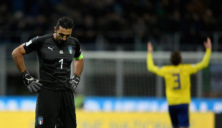 Gianluigi Buffon Vs Timnas Swedia (zimbio.com)