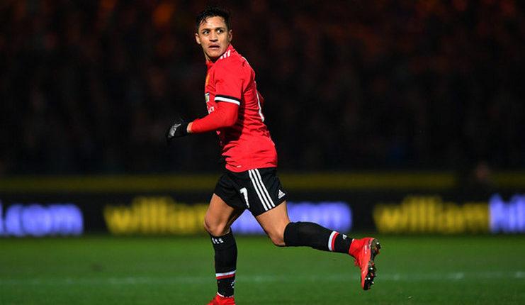 Alexis Sanchez, Marcus Rashford, Manchester United