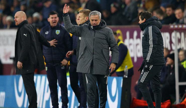 Burnley vs Manchester United, Jose Mourinho