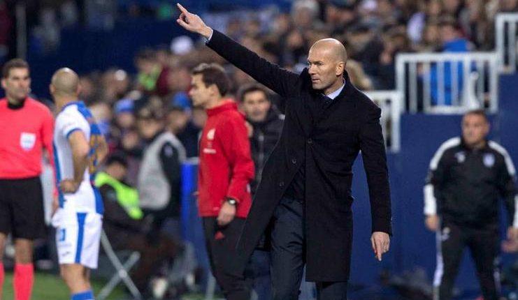 Zinedine Zidane senang Madrid bisa clean sheet di kandang Leganes.