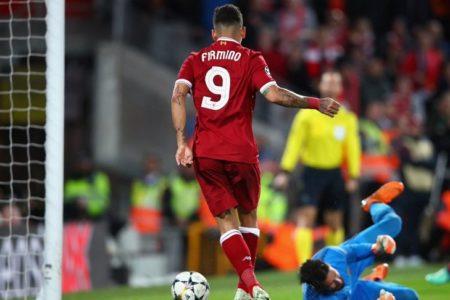 Firmino Sambut Baik Kemenangan Liverpool Atas AS Roma