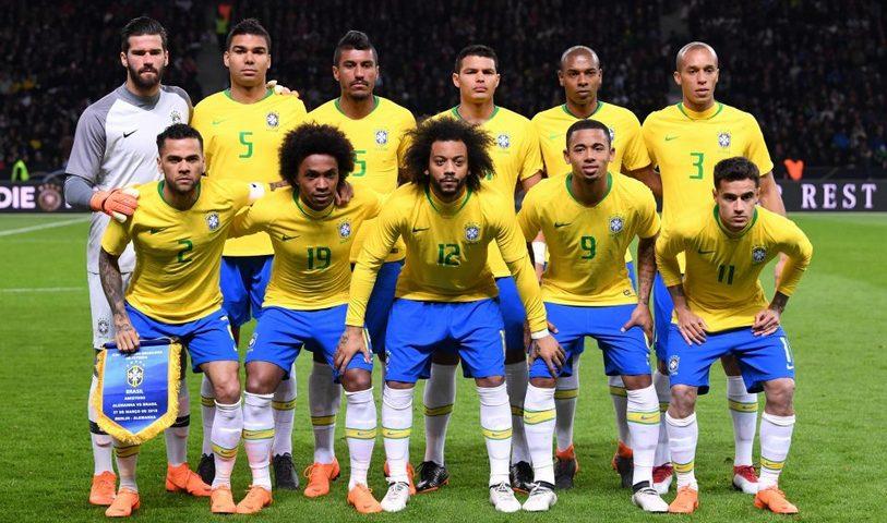 Profil Tim Peserta Piala Dunia 2018: Timnas Brasil