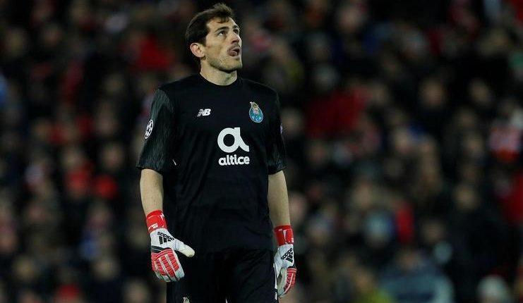 Iker Casillas, kiper FC Porto, tak yakin Apollo 11 mendarat di bulan. (football5star.com / n-tv.pt)