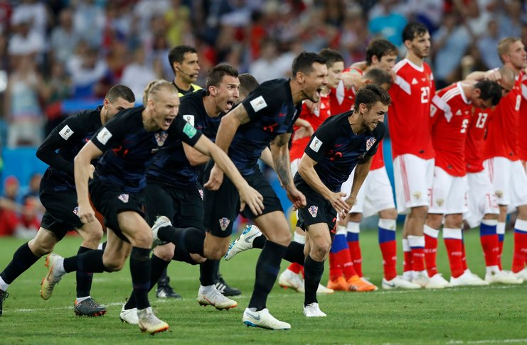 Menang atas tuan rumah, Kroasia punya modal istimewa hadapi Inggris di semifinal Piala Dunia 2018. (football5star.com / presscute.com)