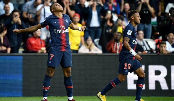 Kylian Mbappe - Neymar - PSG - football5star.com - twitter.com/FoxSoccer