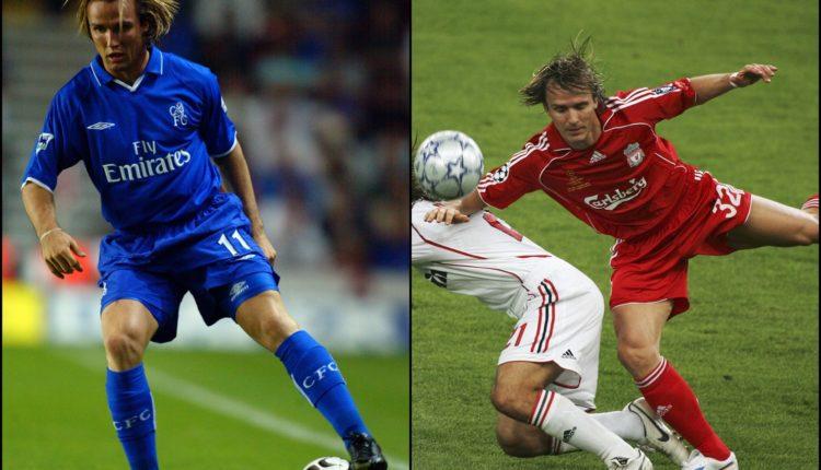Galeri 5 Pemain yang pernah membela Chelsea dan Liverpool-boudewijn zenden