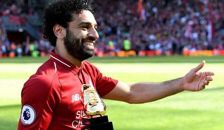 Mohamed Salah raih sepatu emas Premier League musim lalu-Sky Sports-Football5star