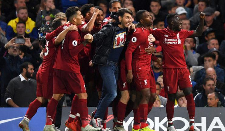 Selebrasi gol Daniel Sturridge pada laga Chelsea vs Liverpool-Zimbio-Football5star