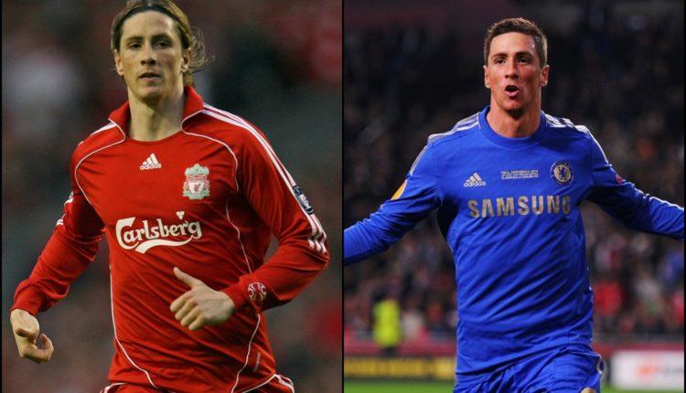 Galeri 5 Pemain yang pernah membela Chelsea dan Liverpool-football5star-fernando torres