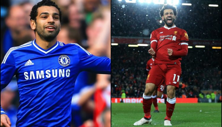 Galeri 5 Pemain yang pernah membela Chelsea dan Liverpool-football5star-mohamed salah