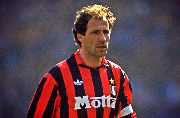 Dua klub Kota Milan, AC Milan dan Inter Milan akan saling bertemu akhir pekan ini. Franco Baresi, legenda AC Milan berharap ini berjalan seru - Footballl5star - imDb