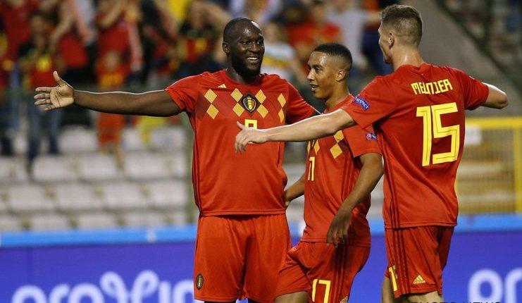 Timnas Belgia memperpanjang rekor kemenangan tak terkalahkan saat bermain di kandang mereka sendiri di Belgia lewat brace Lukaku - Football5star - https://twitter.com/BelRedDevils
