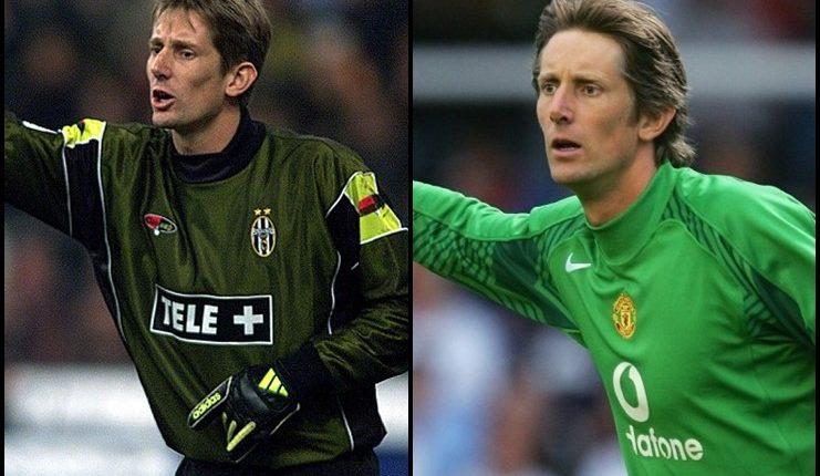 Van Der Sar-Manchester United vs Juventus