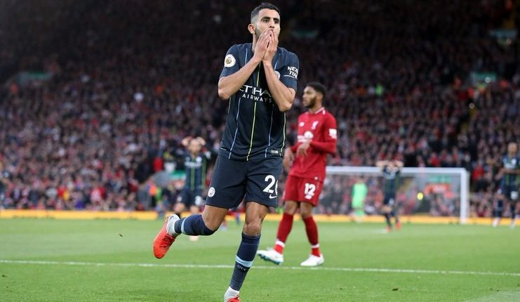 penalti gagal riyad mahrez-liverpool vs man city