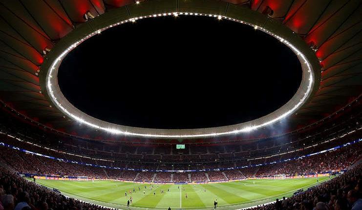 Stadion Wanda Metropolitano (Twitter @Atleti)