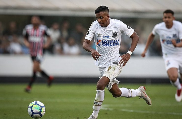 Rodrygo - Sampaoli - Santos - Vinicius - Football5star