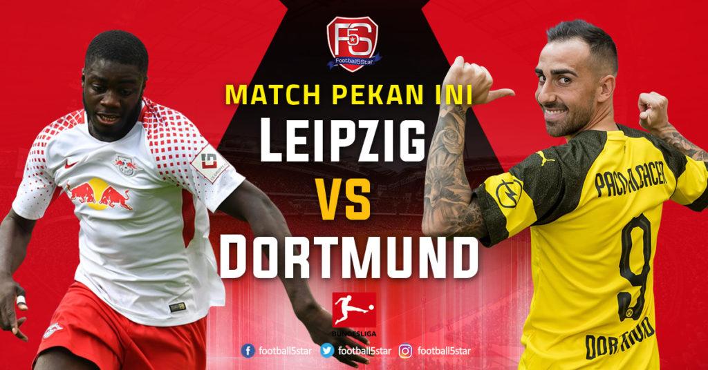 Banner RB Leipzig vs Borussia Dortmund