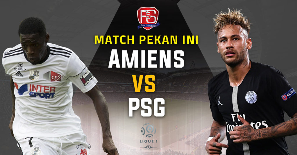 Banner SC Amiens vs Paris Saint-Germain