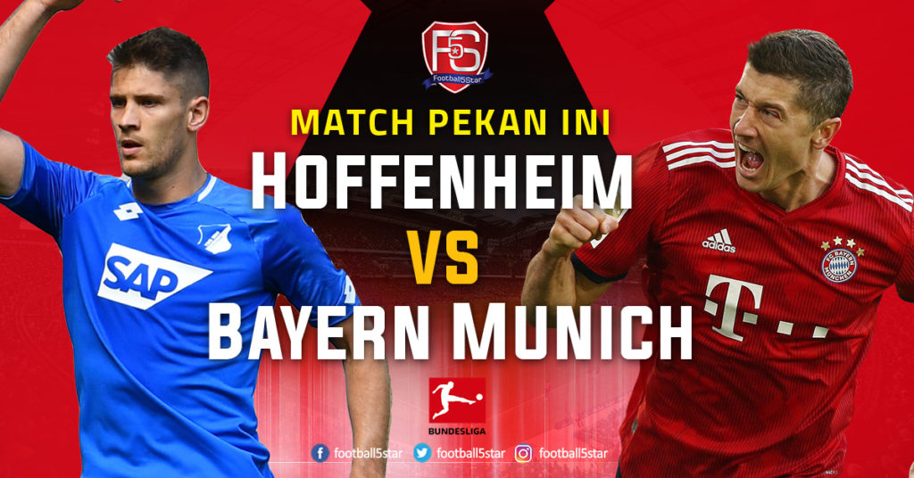Banner TSG 1899 Hoffenheim vs Bayern Munich