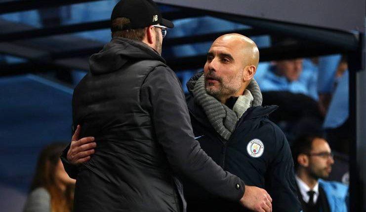 Pep Guardiola kian menyeimbangkan rekor pertemuan dengan Juergen Klopp.