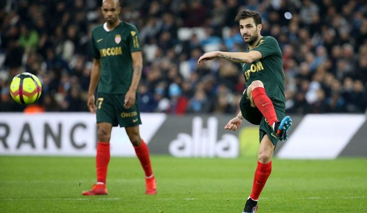 Debut Fabregas di AS Monaco