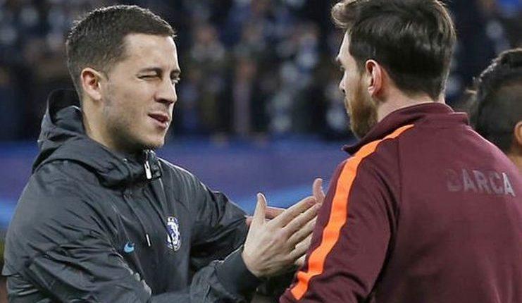 Eden Hazard - Messi - Ronaldo - Juventus - Barcelona - Football5star