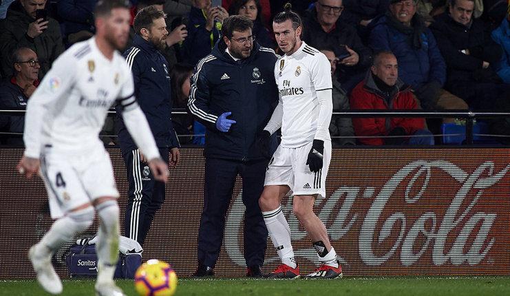 Gareth Bale diperkirakan hanya perlu absen 15 hari gara-gara cedera saat Madrid melawan Villarreal.