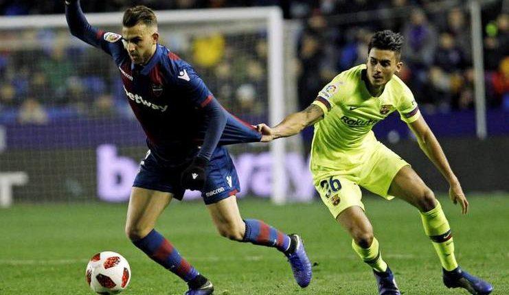 Juan Brandariz Chumi dinyatakan RFEF sah membela Barcelona saat melawan levante di 16-besar Copa del Rey.