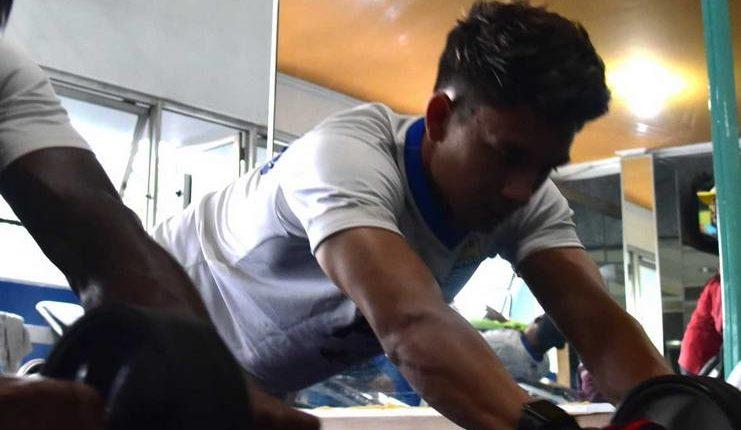 Kim Jeffrey Kurniawan tak kaget oleh menu latihan Miljan Radovic di Persib.