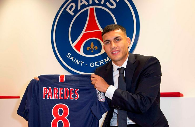 Leandro Paredes - PSG - Liga Prancis - Football5star