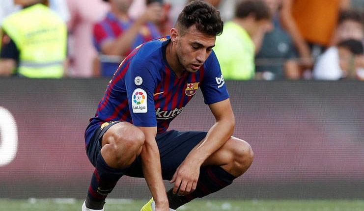 Masa depan Munir El haddadi di Barcelona kian gelap sehingga menarik perhatian Sevilla.