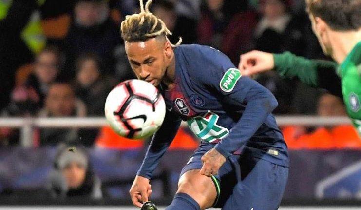 Neymar sudah membantah keinginan kembali ke Barcelona