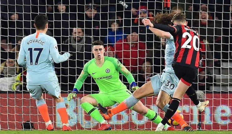 Penampilan Chelsea saat dibantai Bournemouth membuat Maurizio Sarri sangat kecewa.