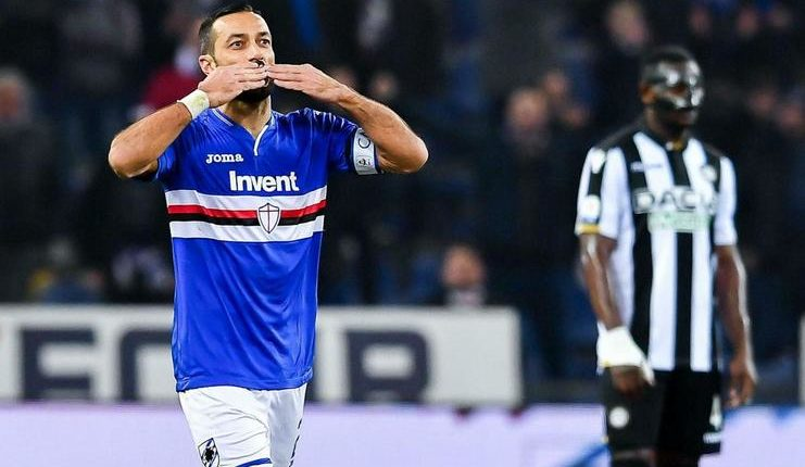 Quagliarella minta Mancini fokus pada peremajaan timnas Italia.