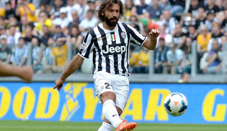 Andrea Pirlo gabung Juventus secara gratis dari AC Milan pada 2011.