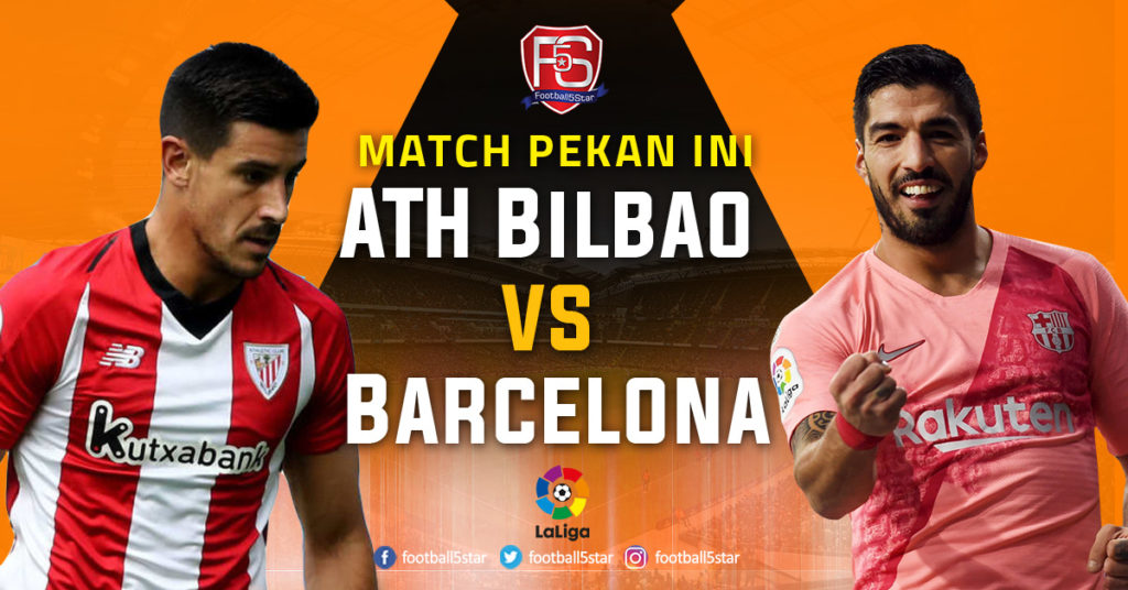 Prediksi Liga Spanyol Athletic Bilbao vs Barcelona