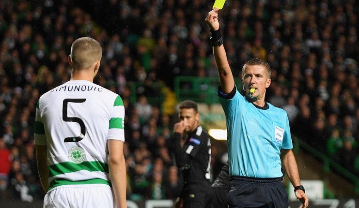 Daniele Orsato adalah wasit yang bertugas saat PSG menang besar di markas Celtic FC.