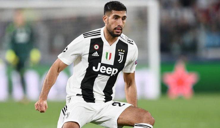 Emre Can diangkut secara gratis oleh Juventus dari Liverpool pada 2018.