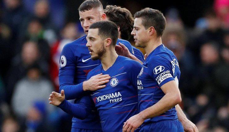 Gonzalo Higuain - Hazard - Chelsea - Huddersfield - Football5star