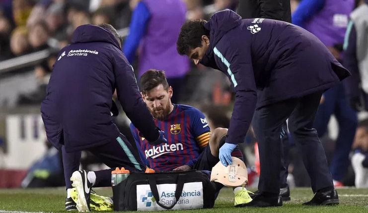 Hanya saat Lionel Messi cedera Marcelino merasa lega dalam laga Barcelona vs Valencia.