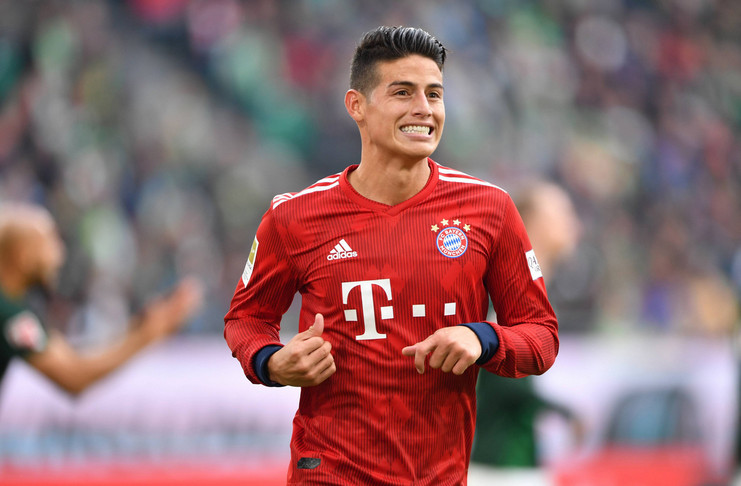James Rodriguez - Real Madrid - Bayern Munich - The42