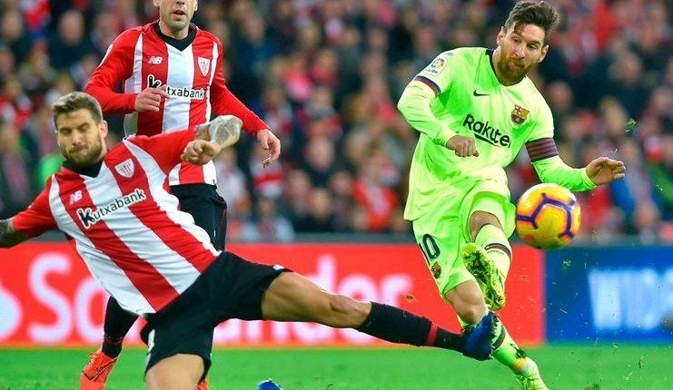 Lionel Messi tak mencetak gol dan assist saat Barcelona ditahan Bilbao.