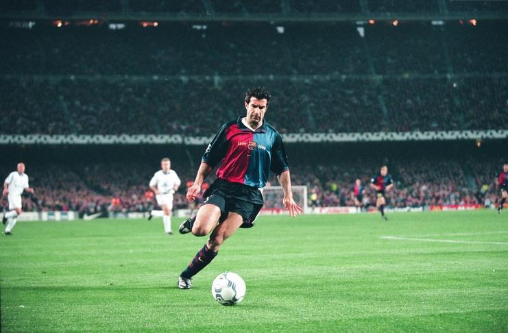 Luis Figo dan Label Pengkhianat yang Selamanya Melekat - Football5star - Thesefootballtimes