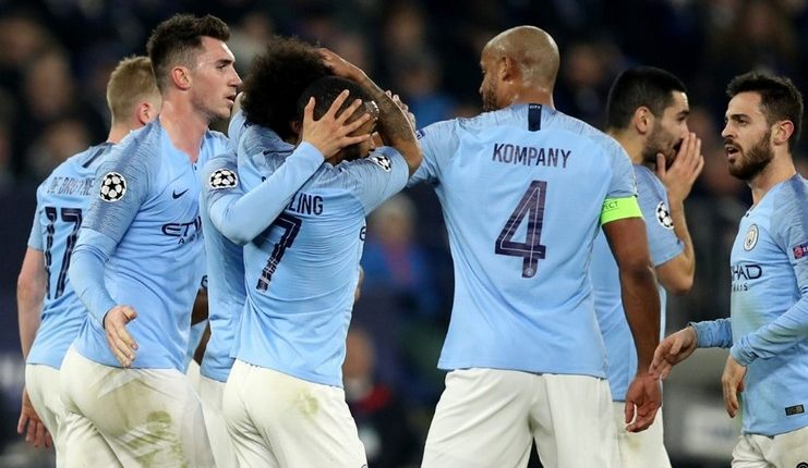 Manchester City - Schalke 04 - Liga Champions - Football5star - -Sane