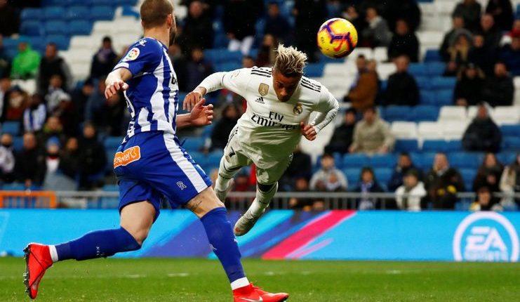 Mariano Diaz kembali menunjukkan ketajamannya saat Real Madrid menang atas Deportivo Alaves.