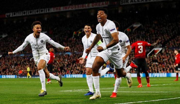PSG jadi klub Prancis pertama yang menang di kandang Manchester United.