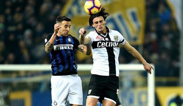 Parma vs Inter berlangsung ketat di Ennio Tardini.