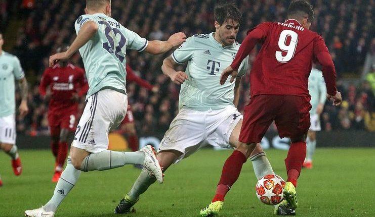 Pertahanan Bayern Munich tampil sangat apik saat melawan Liverpool.