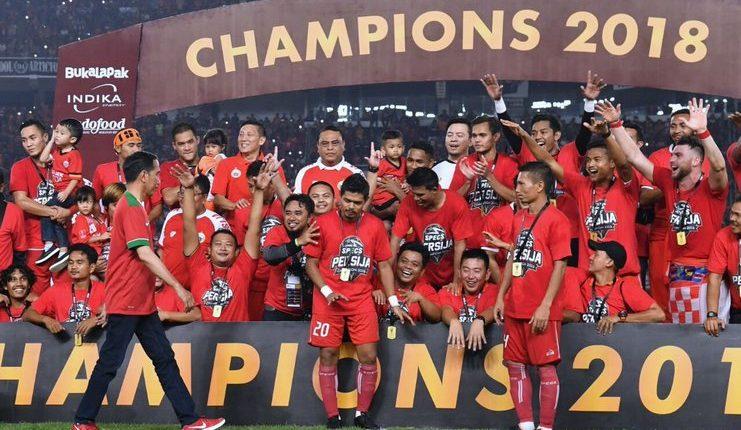 Piala Presiden 2018 dijuarai Persija Jakarta.
